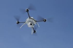UAV helicopter 10x zoom video camera